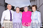 Together again after 26 years apart was siblings Jer Sheehy, Bridie Cockell, Kitty O'Connor and Peg O'Shea pictured here last Saturday in Leen's Hotel, Abbeyfeale.