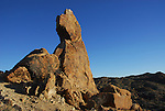 Rock formation at Cottonwood Springs in south Joshua Tree NP