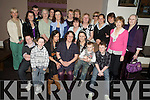 Carmel Lanigan, Elm Grove, Killarney, pictured with family and friends as she celebrated her 50th birthday in The Killarney Oaks on Friday.