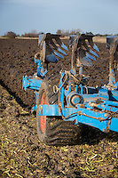 Nine furrow Lemken plough - Lincolnshire, October