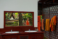 A Buddhist Monks Bathroom in a Monasterie Luang Prabang