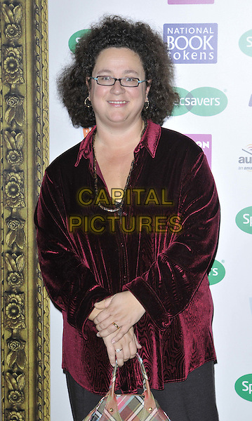 LONDON, ENGLAND - NOVEMBER 26: Sophie Hannah attends the Specsavers National Book Awards 2014, Foreign &amp; Commonwealth Office, King Charles St., on Wednesday November 26, 2014 in London, England, UK. <br /> CAP/CAN<br /> &copy;Can Nguyen/Capital Pictures