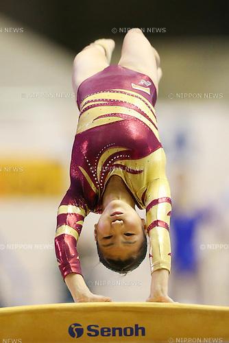 Asuka Teramoto (JPN), .May 5, 2012 - Artistic gymnastics : .The 51st NHK Cup, Women's Individual All-Around 2nd Day .at Yoyogi 1st Gymnasium, Tokyo, Japan. .(Photo by Daiju Kitamura/AFLO SPORT) [1045]