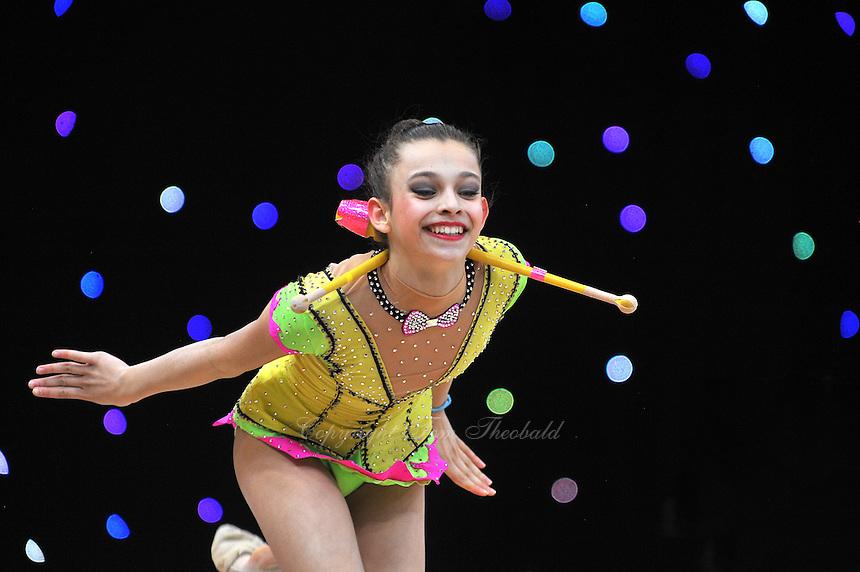 "February 8, 2014 - Tartu, Estonia - KATERINA MARINOVA (1999 junior) from Bulgaria performs at ""Miss Valentine 2014"" international tournament."