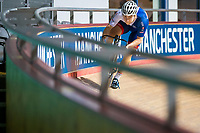 Picture by Alex Whitehead/SWpix.com - 11/10/2017 - British Cycling - Great Britain Cycling Team Sprint Practice Session - HSBC UK National Cycling Centre, Manchester, England - Phil Hindes.