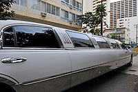 Limousine car, Waikiki, Honolulu, Oahu Island, Hawaii, Usa