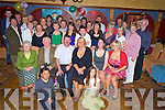 Margaret Brosnan, Scrahan Mews, Killarney, pictured with Margaret Crowley, Fineen O'Driscoll, Padraig Brosnan, Ciara and Aoife Brosnan, family and friends, as she celebrated her 50th birthday in Killarney Avenue hotel on Friday night.........