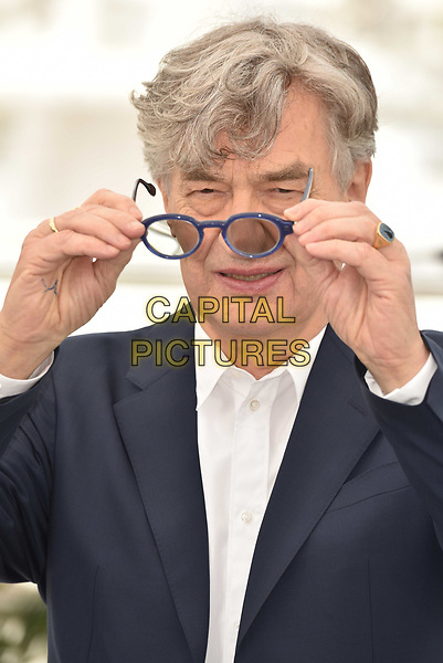 CANNES, FRANCE - MAY 13: Director Wim Wenders at the photocall for 'Pope Francis - A Man Of His Word' during the 71st annual Cannes Film Festival at Palais des Festivals on May 13, 2018 in Cannes, France.<br /> CAP/PL<br /> &copy;Phil Loftus/Capital Pictures