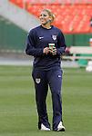 10 May 2008: Hope Solo (USA). The United States Women's National Team defeated the Canada Women's National Team 6-0 at RFK Stadium in Washington, DC in a women's international friendly soccer match.