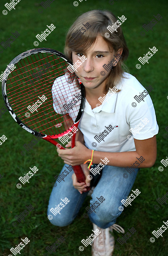 2008-08-19 / Tennis / Frauke Omloop..Foto: Maarten Straetemans (SMB)