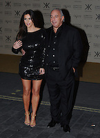 WWW.BLUESTAR-IMAGES.COM.Kim Kardashian and Phillip Green pictured at the Kardashian Kollection launch. The event was to promote their new fashion range for high street chain Dorothy Perkins held at Aqua, London. Uk 08/11/2012.Photo: BlueStar Images/OIC kap1003  +44 (0)208 445 8588..