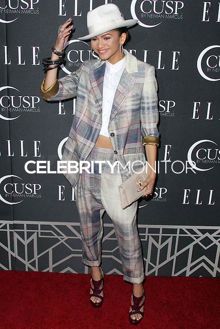 HOLLYWOOD, LOS ANGELES, CA, USA - APRIL 22: Zendaya at the 5th Annual ELLE Women In Music Concert Celebration presented by CUSP by Neiman Marcus held at Avalon on April 22, 2014 in Hollywood, Los Angeles, California, United States. (Photo by Xavier Collin/Celebrity Monitor)