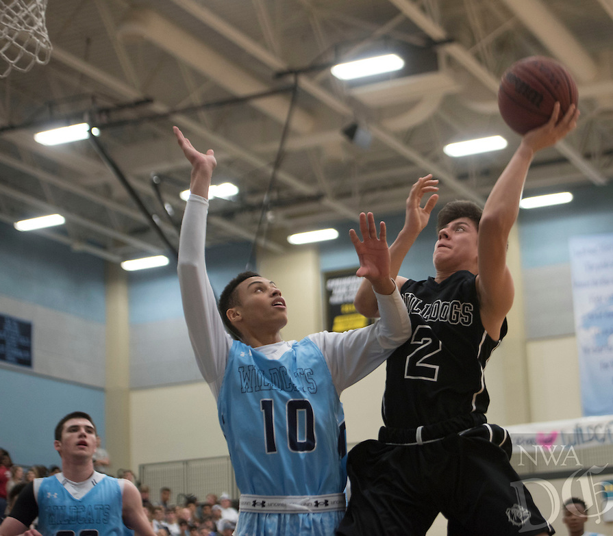 NWA Democrat-Gazette/J.T. WAMPLER  Springdale High School's against Har-Ber Monday Feb. 8, 2016. For a gallery of images go to http://nwamedia.photoshelter.com/