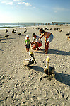Florida, Tampa: Family at Suncoast Seabird Sanctuary.  Photo #: tampas104..Photo copyright Lee Foster, www.fostertravel.com, 510/549-2202, lee@fostertravel.com