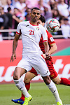 Salem Alajalin of Jordan in action during the AFC Asian Cup UAE 2019 Round of 16 match between Jordan (JOR) and Vietnam (VIE) at Al Maktoum Stadium on 20 January 2019 in Dubai, United Arab Emirates. Photo by Marcio Rodrigo Machado / Power Sport Images