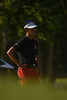 Kevin Na (USA) waits to putt on 7 during round 2 of the Fort Worth Invitational, The Colonial, at Fort Worth, Texas, USA. 5/25/2018.<br /> Picture: Golffile | Ken Murray<br /> <br /> All photo usage must carry mandatory copyright credit (&copy; Golffile | Ken Murray)