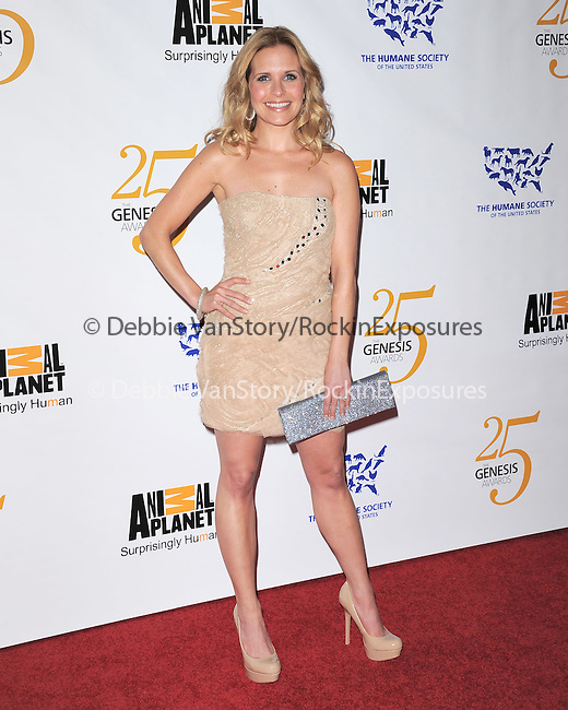 Sally Pressman at The Humane Society of The United States celebration of The 25th Anniversary Genesis Awards in Beverly Hills, California on March 19,2011                                                                               © 2010 Hollywood Press Agency