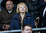 St Johnstone v Hearts..19.12.15  SPFL  McDiarmid Park, Perth<br /> Hearts owner Ann Budge<br /> Picture by Graeme Hart.<br /> Copyright Perthshire Picture Agency<br /> Tel: 01738 623350  Mobile: 07990 594431