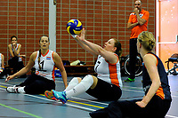 ASSEN - Volleybal, Internationaal zitvolleybal toernooi, Nederland - Rusland, 01-07-2017,  Jacqueline Koppers