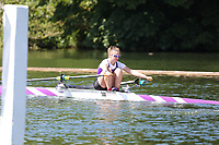 Race: 8  Event: Aspirational Lightweight 1x<br /> Crew: 144  Club: Univ of London<br /> <br /> Henley Women's Regatta 2018<br /> Friday<br /> <br /> To purchase this photo, or to see pricing information for Prints and Downloads, click the blue 'Add to Cart' button at the top-right of the page.