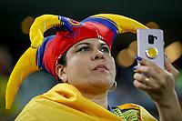 SÃO PAULO, SP 28.06.2019: COLÔMBIA-CHILE - Torcida. Colômbia e Chile durante partida válida pelas quartas de final da Copa América Brasil 2019, que acontece na Arena Corinthians, zona leste da capital paulista na noite desta sexta-feira (28). (Foto: Ale Frata/Código19)