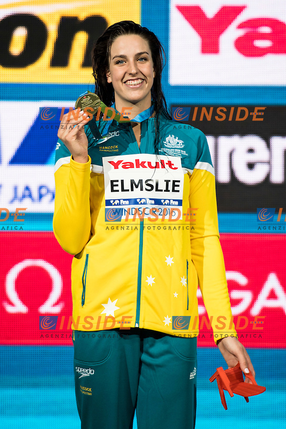 ELMSLIE Brittany AUS Gold Medal CR<br /> Women's 100m Freestyle<br /> 13th Fina World Swimming Championships 25m <br /> Windsor  Dec. 8th, 2016 - Day03 Finals<br /> WFCU Centre - Windsor Ontario Canada CAN <br /> 20161208 WFCU Centre - Windsor Ontario Canada CAN <br /> Photo &copy; Giorgio Scala/Deepbluemedia/Insidefoto