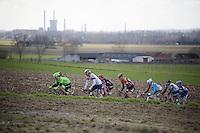 the race leaders up the Kortekeer<br /> <br /> E3 - Harelbeke 2016