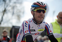 Joaquim &quot;Purito&quot; Rodriguez (ESP/Katusha) at the start<br /> <br /> 79th Fl&egrave;che Wallonne 2015