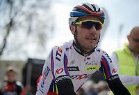 "Joaquim ""Purito"" Rodriguez (ESP/Katusha) at the start<br /> <br /> 79th Flèche Wallonne 2015"
