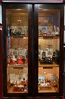 Antique dollhouse<br /> Antique toys exposed at Palazzo Braschi during the Exhibition 'For fun. Collection of antique toys of Capitoline Superintendency'.<br /> Rome (Italy), July 24th 2020