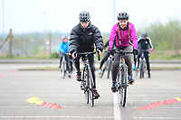 Picture by SWpix.com - 28/04/2018 Cycling - British Cycling Go-Ride Young Volunteer Course, Workshop Derby - Young volunteers taker part in the course at Derby Velodrome and classrooms