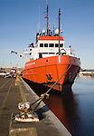 Putford Achilles North Sea supply vessel, River Yare, Great Yarmouth