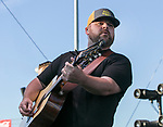 Tyler Farr performs during the Reno Rodeo Concert on Wednesday night, June 19, 2019.