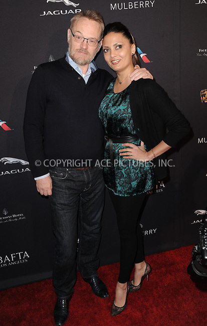 WWW.ACEPIXS.COM<br /> <br /> January 10 2015, LA<br /> <br /> Jared Harris and Allegra Riggio attending the 2015 BAFTA Tea Party at The Four Seasons Hotel on January 10, 2015 in Beverly Hills, California.<br /> <br /> By Line: Peter West/ACE Pictures<br /> <br /> <br /> ACE Pictures, Inc.<br /> tel: 646 769 0430<br /> Email: info@acepixs.com<br /> www.acepixs.com