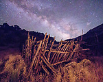 Milky Way-rise Over Old Corral