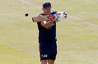 Anthony McGrath of Essex leads slip fielding practice prior to Essex CCC vs Kent CCC, Bob Willis Trophy Cricket at The Cloudfm County Ground on 2nd August 2020