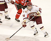 Meagan Mangene (BC - 24) - The Boston College Eagles defeated the visiting St. Lawrence University Saints 6-3 (EN) in their NCAA Quarterfinal match on Saturday, March 10, 2012, at Kelley Rink in Conte Forum in Chestnut Hill, Massachusetts.