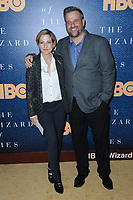 www.acepixs.com<br /> May 11, 2017  New York City<br /> <br /> Edie Falco and Stephen Wallem attending the 'The Wizard Of Lies' New York Premiere at The Museum of Modern Art on May 11, 2017 in New York City. <br /> <br /> Credit: Kristin Callahan/ACE Pictures<br /> <br /> <br /> Tel: 646 769 0430<br /> Email: info@acepixs.com