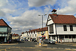 Historic town hall at Great Dunmow, Essex, England, UK