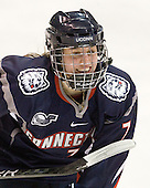 Alexandra Vakos (UConn - 7) - The visiting University of Connecticut Huskies defeated the Northeastern University Huskies 4-2 (EN) in NU's senior game on Saturday, February 19, 2011, at Matthews Arena in Boston, Massachusetts.