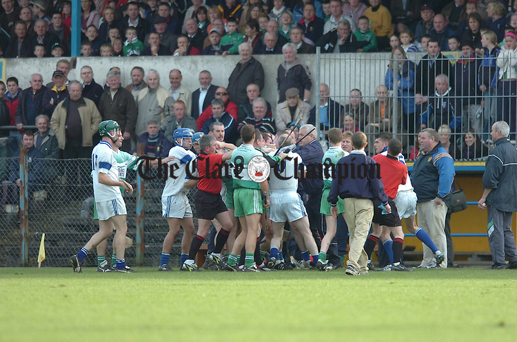 Munster Club 2006 at Cusack Park  Bruree v Wolfe Tones