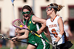 Santa Barbara, CA 02/13/10 - Stephanie Roberts (Texas #6) in action during the Texas-Oregon game at the 2010 Santa Barbara Shoutout, Texas defeated Oregon 11-9.