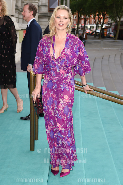 Kate Moss at the V&amp;A Summer Party at the Victoria and Albert Museum, London.<br /> June 22, 2016  London, UK<br /> Picture: Steve Vas / Featureflash