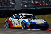 Porsche GT3 Cup Challenge USA<br /> Advance Auto Parts SportsCar Showdown<br /> Circuit of The Americas, Austin, TX USA<br /> Saturday 6 May 2017<br /> 56, David Baker, GT3P, USA, M, 2017 Porsche 991<br /> World Copyright: Jake Galstad<br /> LAT Images