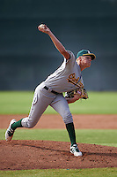 Oakland Athletics pitcher Boomer Biegalski (36) during an instructional league game against the San Francisco Giants on October 12, 2015 at the Giants Baseball Complex in Scottsdale, Arizona.  (Mike Janes/Four Seam Images)