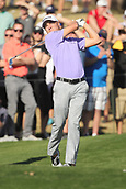 February 1st 2019, Scotsdale, Arizona, USA;  Justin Thomas drives on the twelfth hole in the second round of the Waste Management Phoenix Open at TPC Scottsdale in Scottsdale, Arizona.