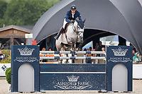BEL-Olivier Philippaerts (LEGEND OF LOVE) FINAL-4TH: CSI3* TABLE A AGAINST THE CLOCK WITH JUMP OFF (145cm): Small Grand Prix - Qalifier for Grand Prix: 2014 BEL-Bonheiden CSI1*/CSI3* (Saturday 28 June) CREDIT: Libby Law COPYRIGHT: LIBBY LAW PHOTOGRAPHY - NZL