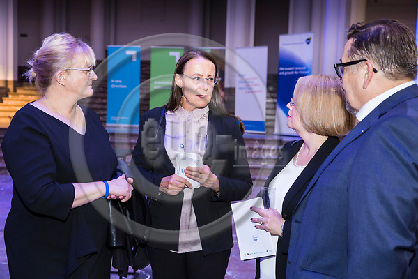 BRUSSELS - BELGIUM - 27 September 2017 -- Finland 100th Anniversary Reception and Concert of the Philharmonia Orchestra of London at the BOZAR. --  Pirkko Mattila, Minister of Social Affairs and Health of Finland. -- PHOTO: Juha ROININEN / EUP-IMAGES