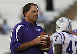 16 September 2006: Furman assistant head coach Clay Hendrix. The University of North Carolina Tarheels defeated the Furman University Paladins 45-42 at Kenan Stadium in Chapel Hill, North Carolina in an NCAA College Football game.