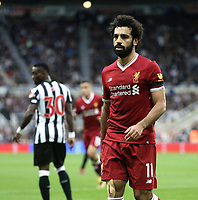 Liverpool's Mohamed Salah<br /> <br /> Photographer Rich Linley/CameraSport<br /> <br /> The Premier League -  Newcastle United v Liverpool - Sunday 1st October 2017 - St James' Park - Newcastle<br /> <br /> World Copyright &copy; 2017 CameraSport. All rights reserved. 43 Linden Ave. Countesthorpe. Leicester. England. LE8 5PG - Tel: +44 (0) 116 277 4147 - admin@camerasport.com - www.camerasport.com